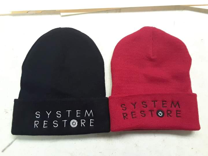 Image of System Restore tall Beanies