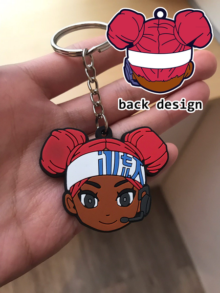 Image of Lifeline Keychain