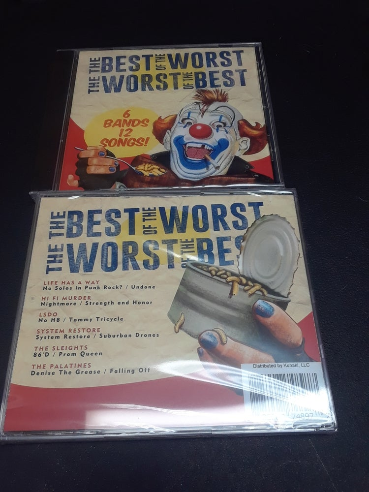 Image of The best of the worst/The worst of the best Comp CD