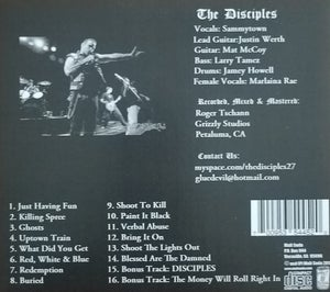"Image of DISCIPLES ""REDEMPTION"" CD"