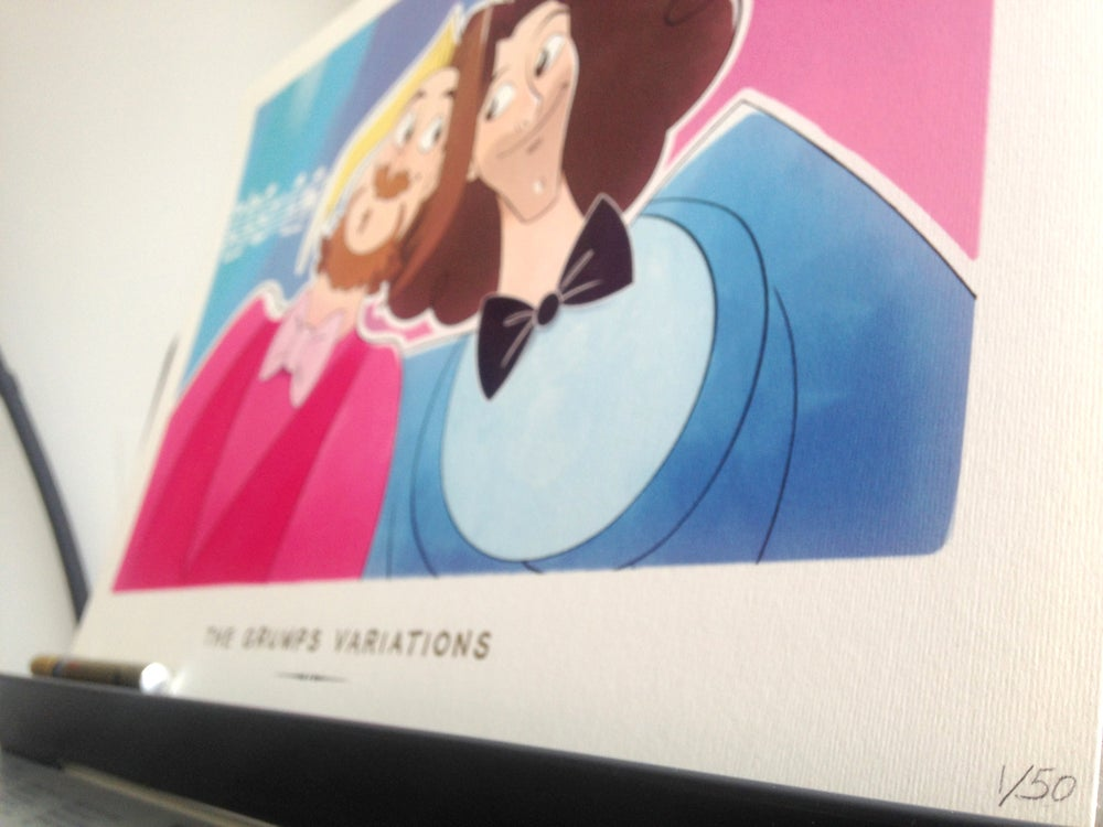Image of The Game Grumps Variations A3 Print