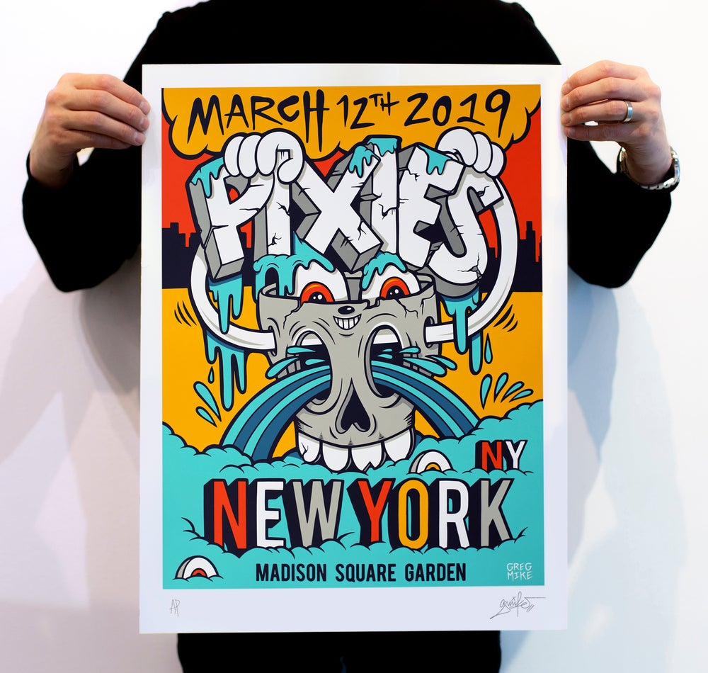 "Image of ""PIXIES NYC"" ARTIST PRINT (7 Color Edition)"