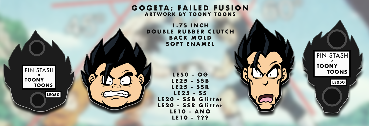 Image of Failed Fusion - Enamel Pin Set (PRE-ORDER)
