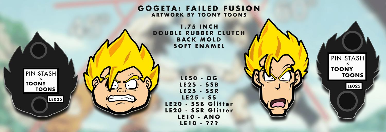 Failed Fusion   Soft Enamel Pin Set