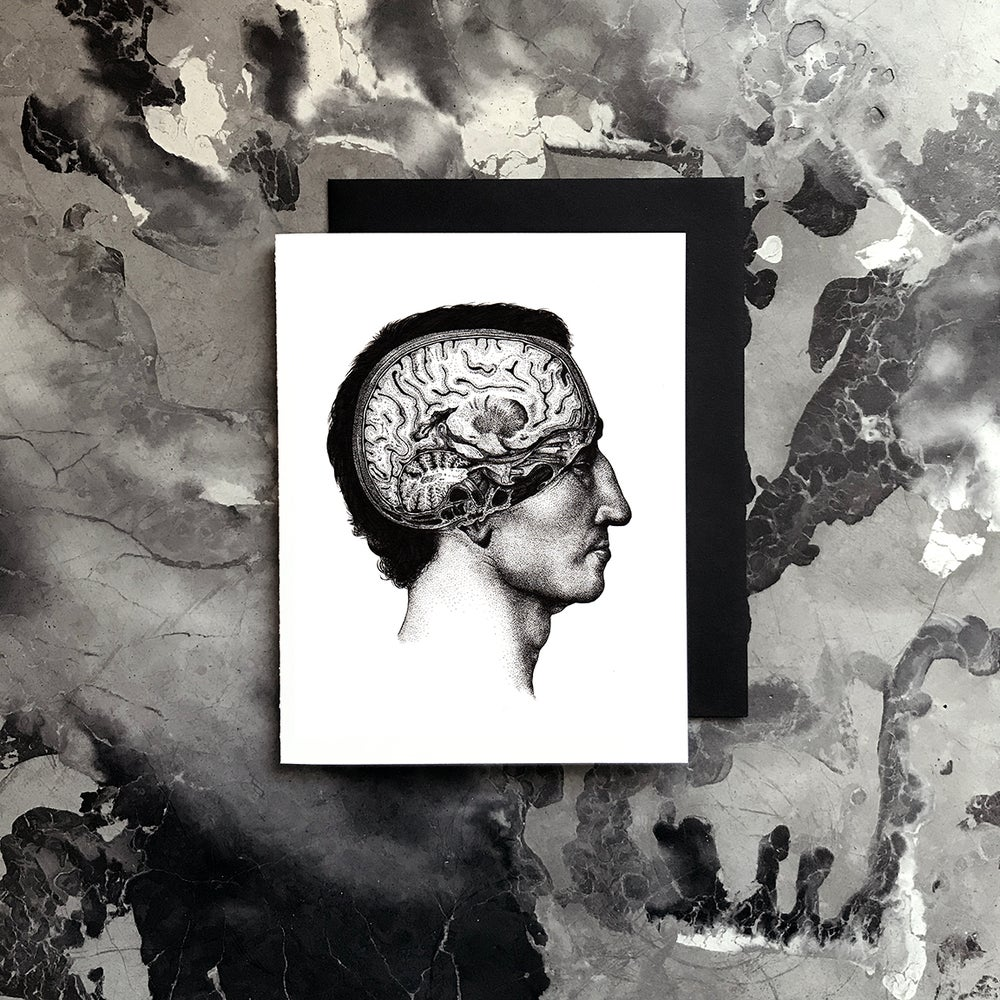 Image of Cerebrum Card / Small Print