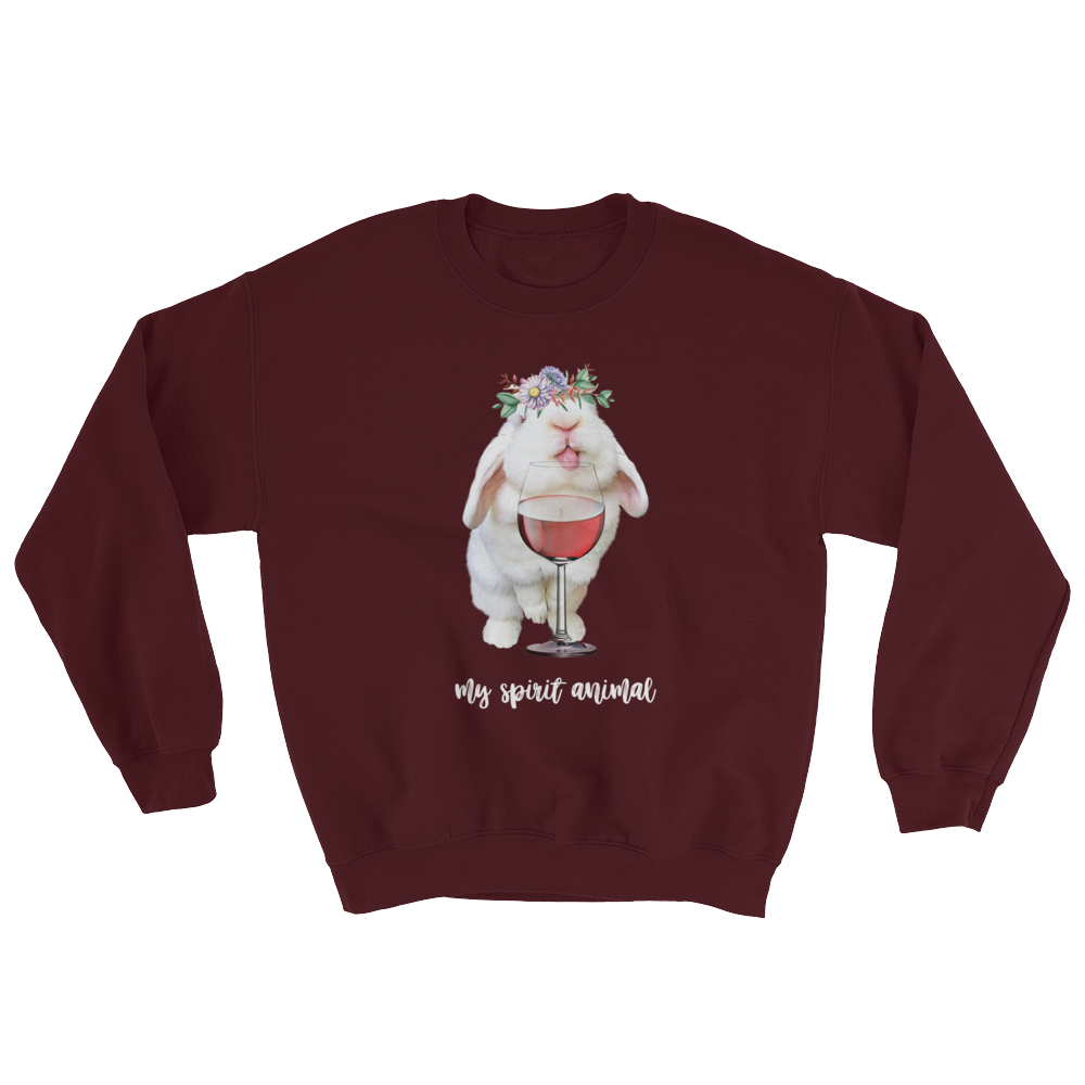 Image of Blanco 'My Spirit Animal' Crewneck Sweatshirt