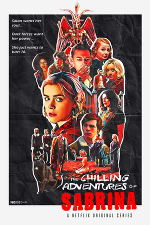 """Chilling Adventures of Sabrina - 8x12"""" Limited Run Print"""