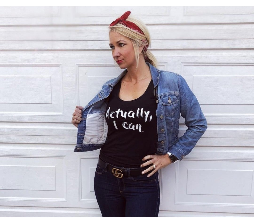 Image of Actually, I Can - tees