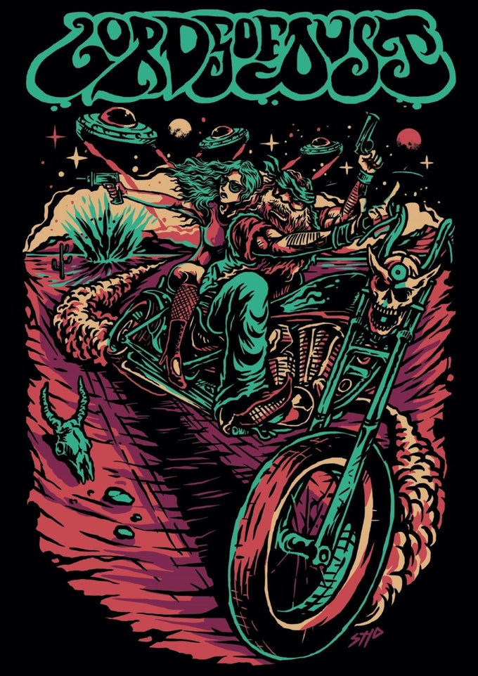 Image of Desert Biker