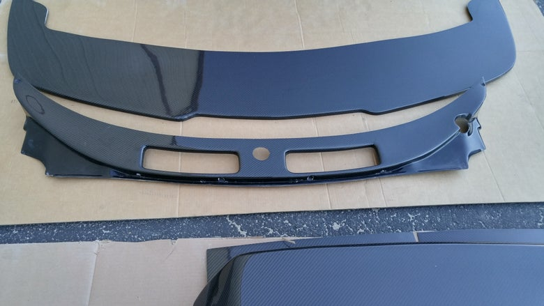 Image of LHD CARBON FIBER Wiper Cowl FOR LEFT HAND DRIVE SW20's