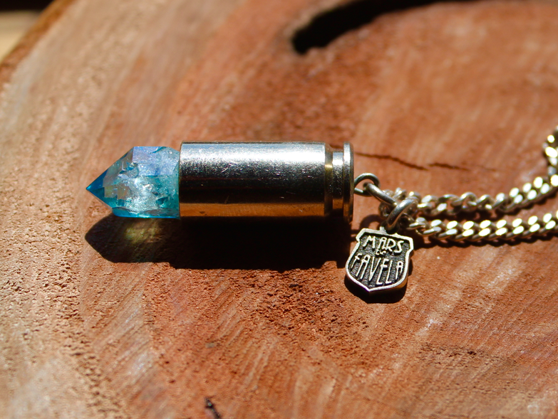 Image of Aqua Aura  - Sterling Silver