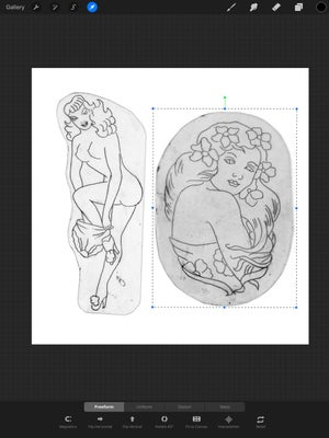Image of T.F. Acetate Collection: Pinups Set 1
