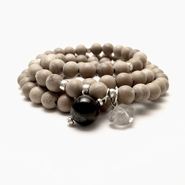 Image of Sun Triple Wrap Wrist Mala