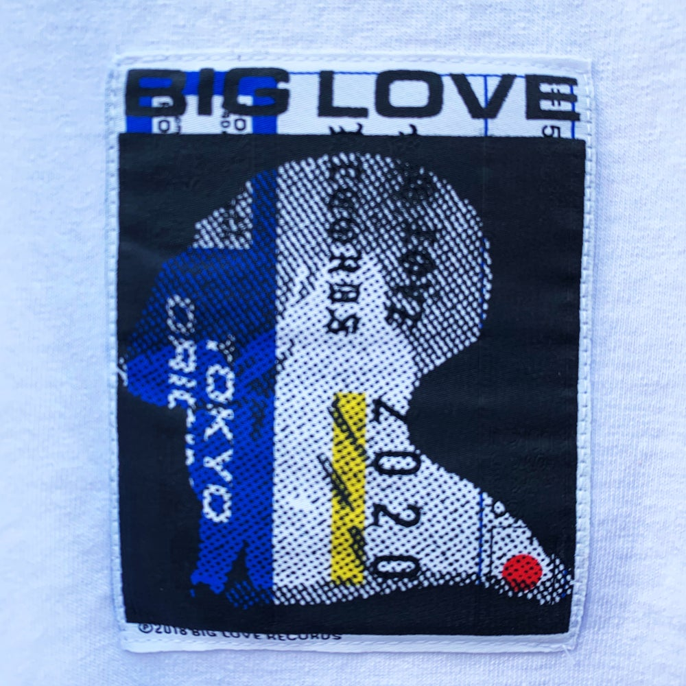 Image of BIG LOVE X NATHANIEL MATTHEWS -PATCH- 2019 // LONG BLACK