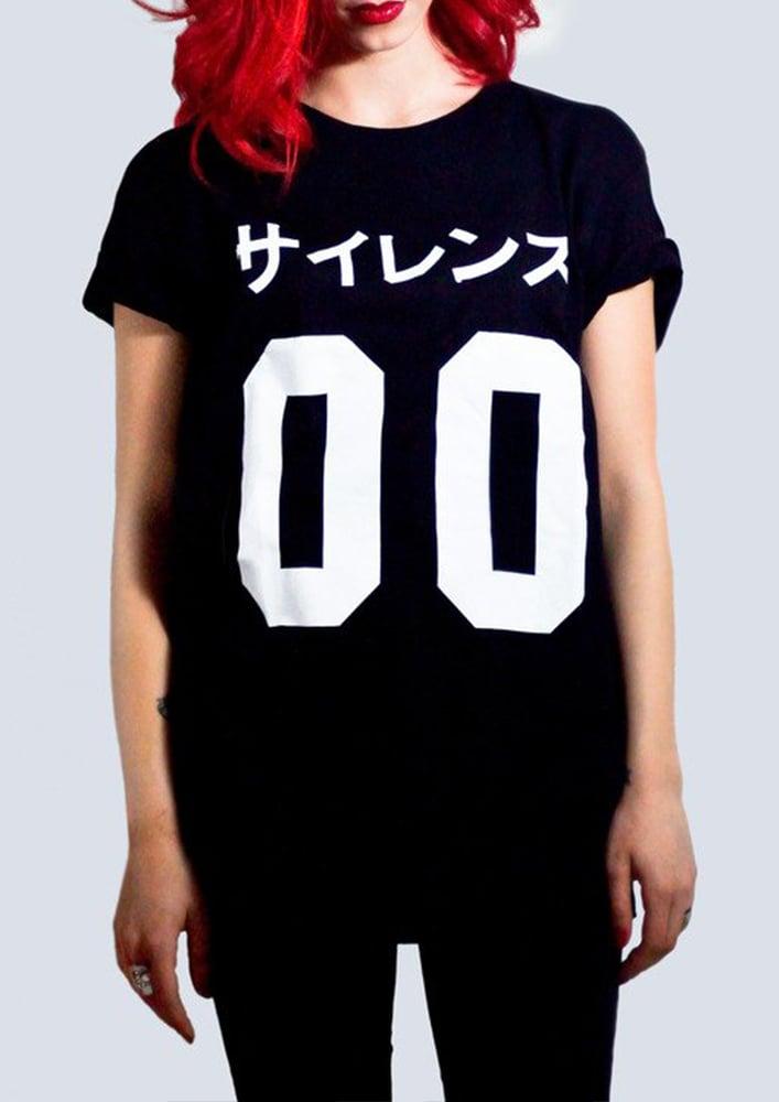 Image of Silence 00 Tshirt Black