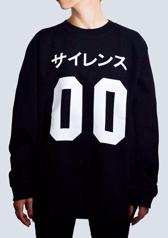 Image of Silence 00 Sweatshirt Black