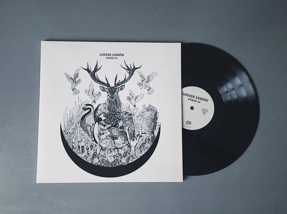 Image of Louise Lemón -  'Purge' (Black LP)