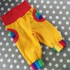 Yellow Corduroy Rainbow Pocket Trousers
