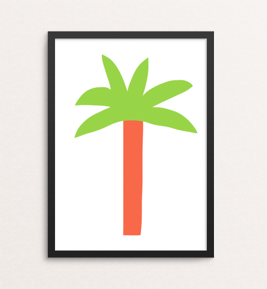 Image of Keep Palm / Prints from Paradise