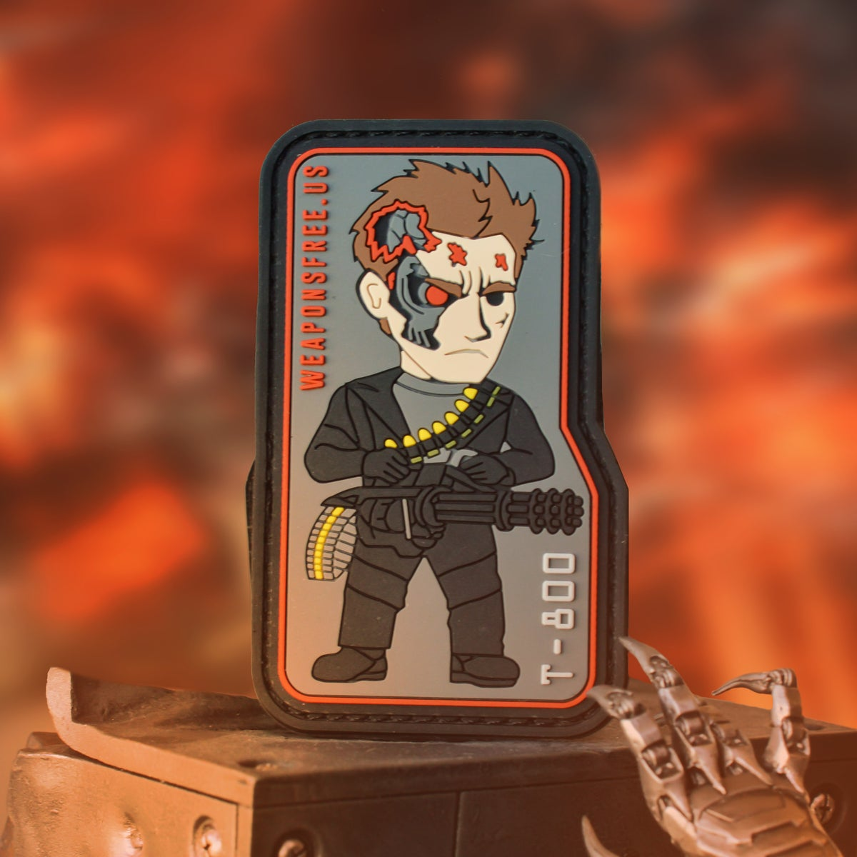 Image of T-800 Tactical Morale Patch