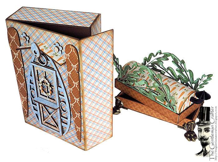Image of Thin House Mini- Mrs. Bernice Bunny's House