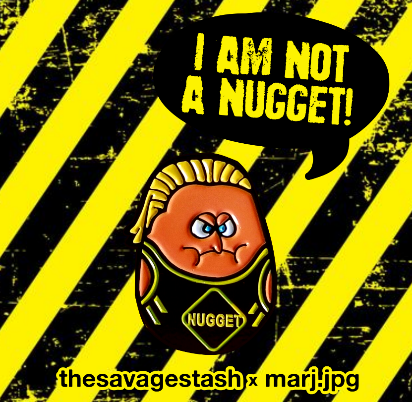 Image of Limited Edition CaNugget Buddy Pin