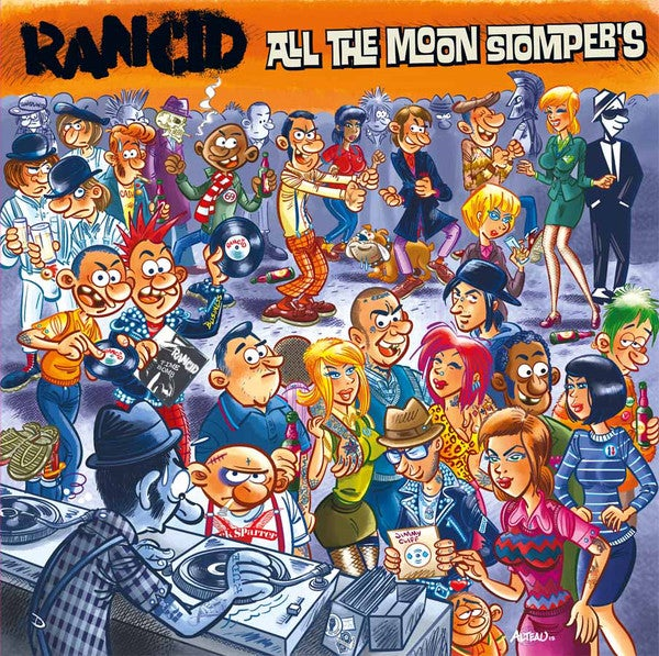 Image of Rancid - All the Moon Stompers... 2xLP (IMPORT)