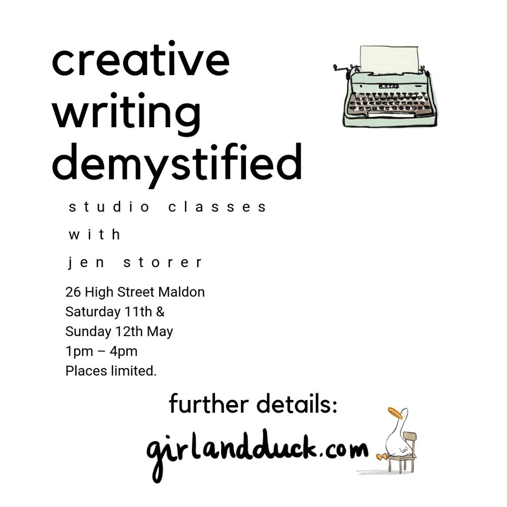 Image of Creative Writing Demystified