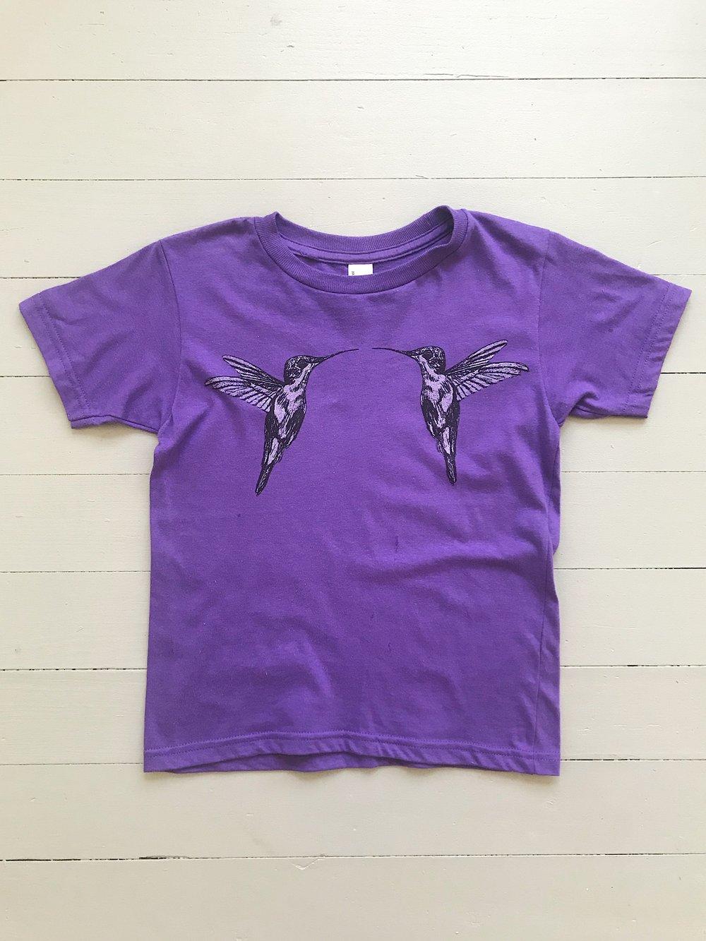 Image of Youth Hummingbird Short Sleeve Tee