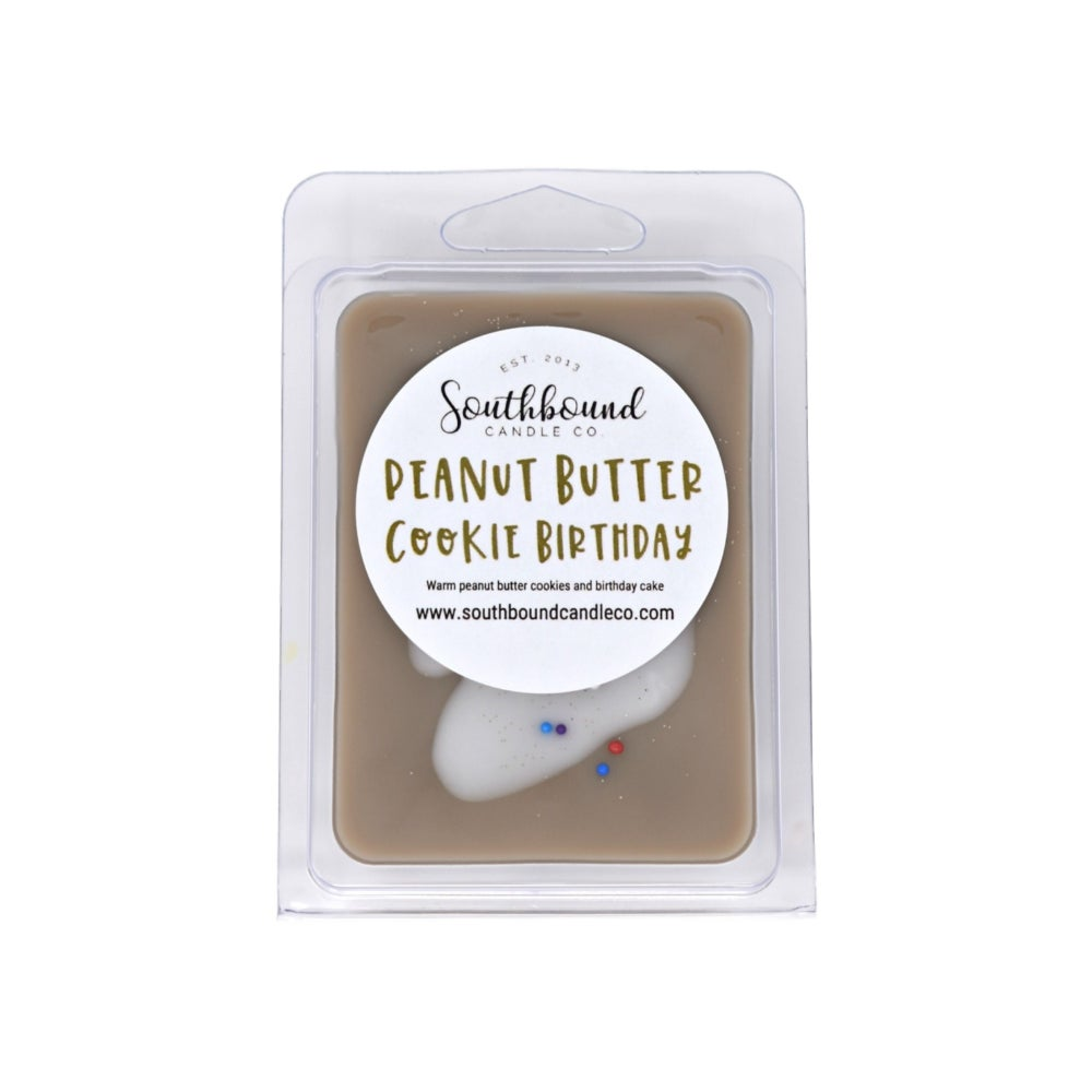 Image of Peanut Butter Cookie Birthday Wax Melts