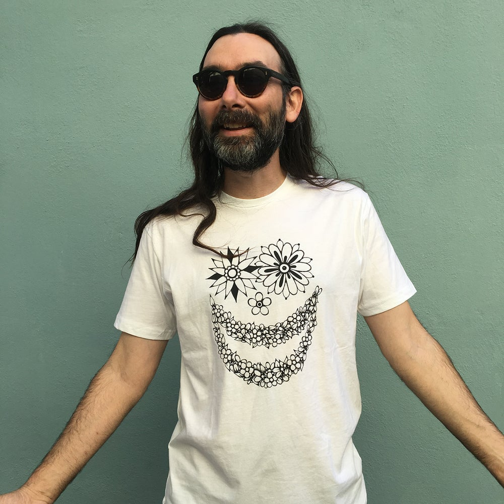 Image of FLOWER FACE - TSHIRT (only 2 mediums left)
