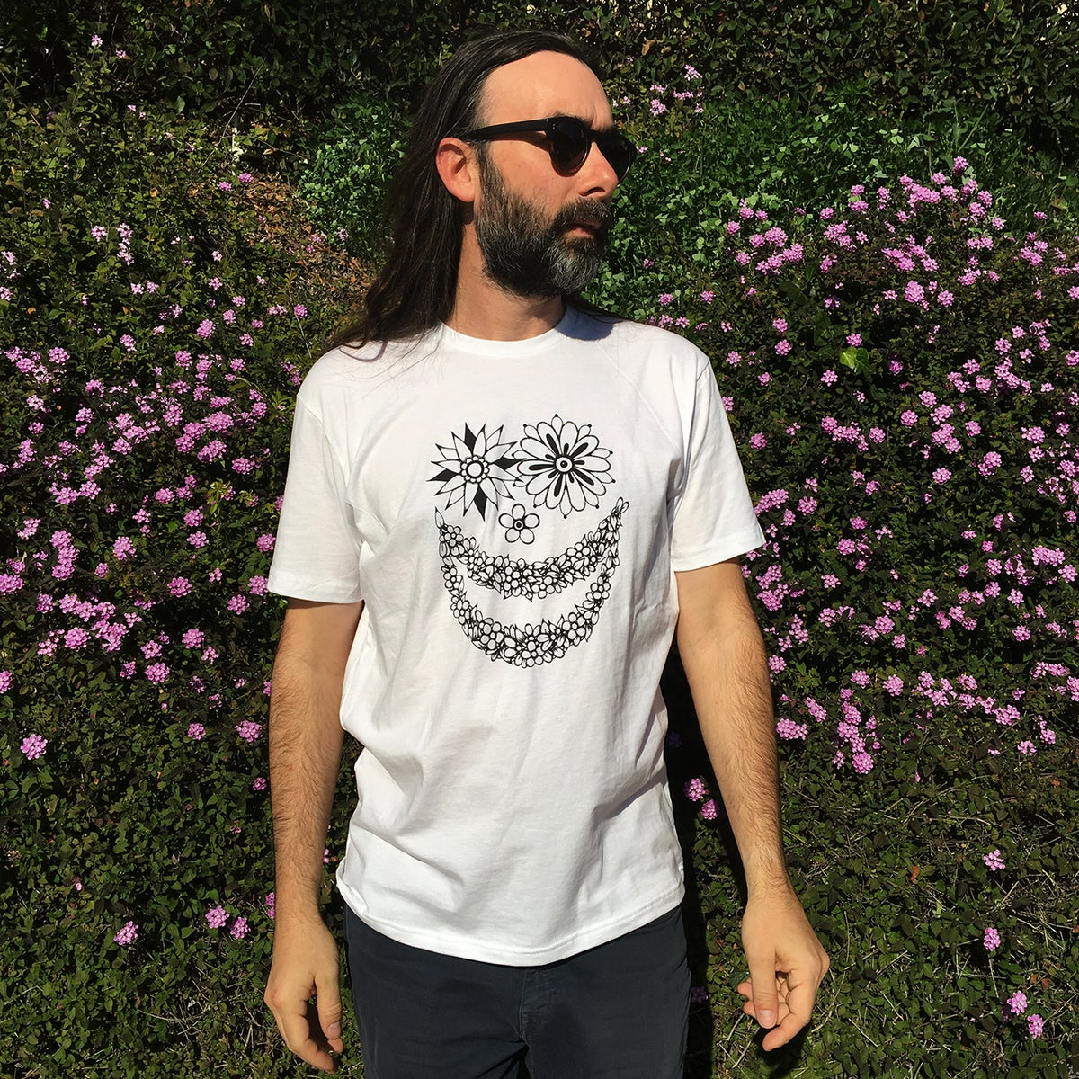 Image of FLOWER FACE - TSHIRT