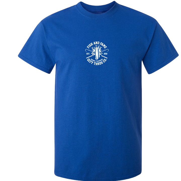 Image of DMND Edge Tee (royal)