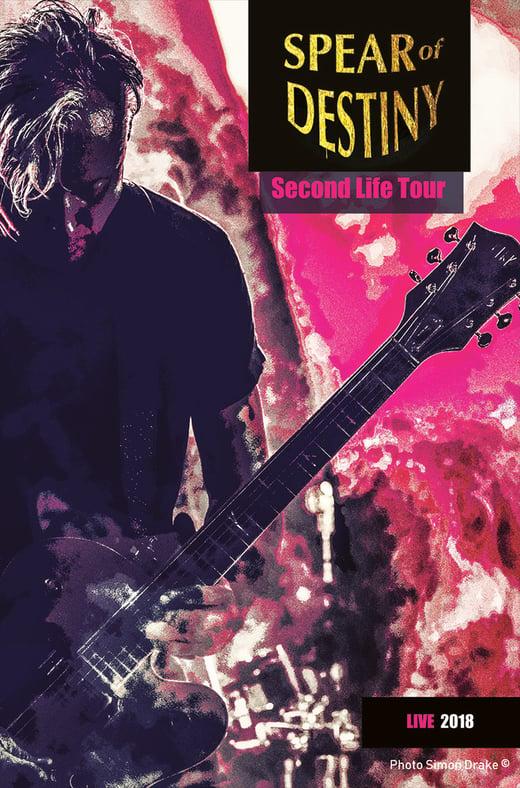SPEAR of DESTINY 'Second Life Tour 2018' DVD