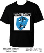 Image of THEATRE OF HATE II.Heiwa Black T-Shirt