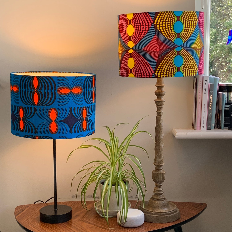 Image of African Cotton Print Ankara 3 Shade 30cm