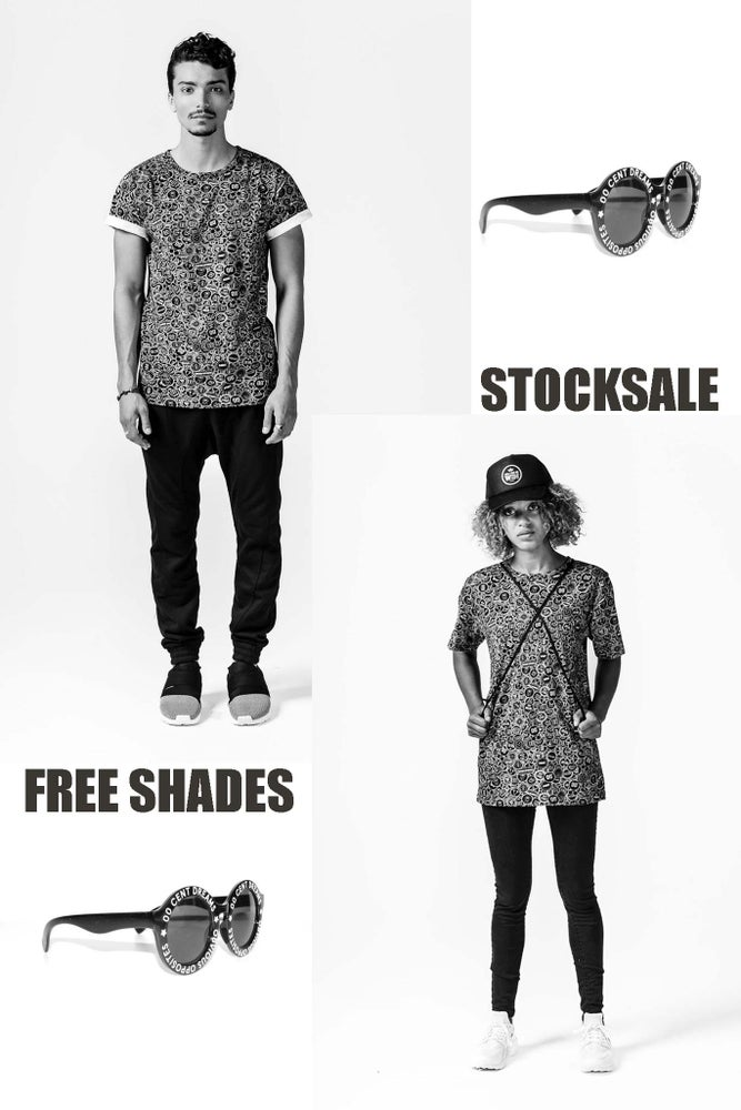 Image of UNISEX ALL OVER TSHIRT + FREE SUNGLASSES