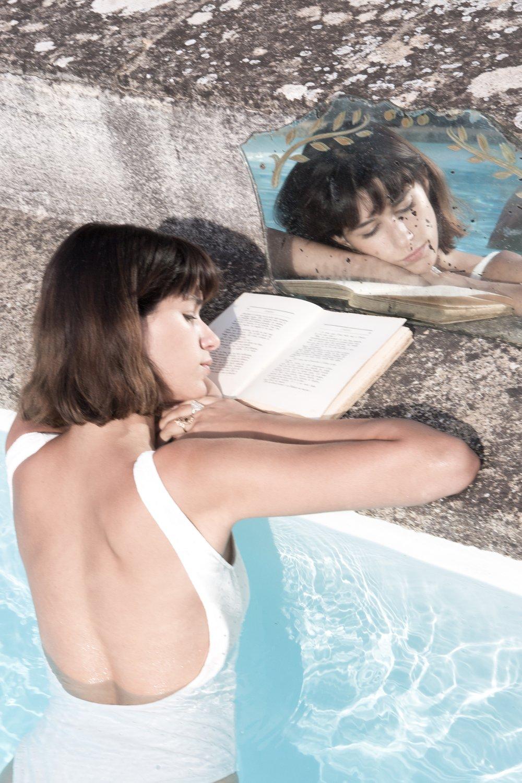 Image of Maillot de bain brodé LILA 99€ -50%
