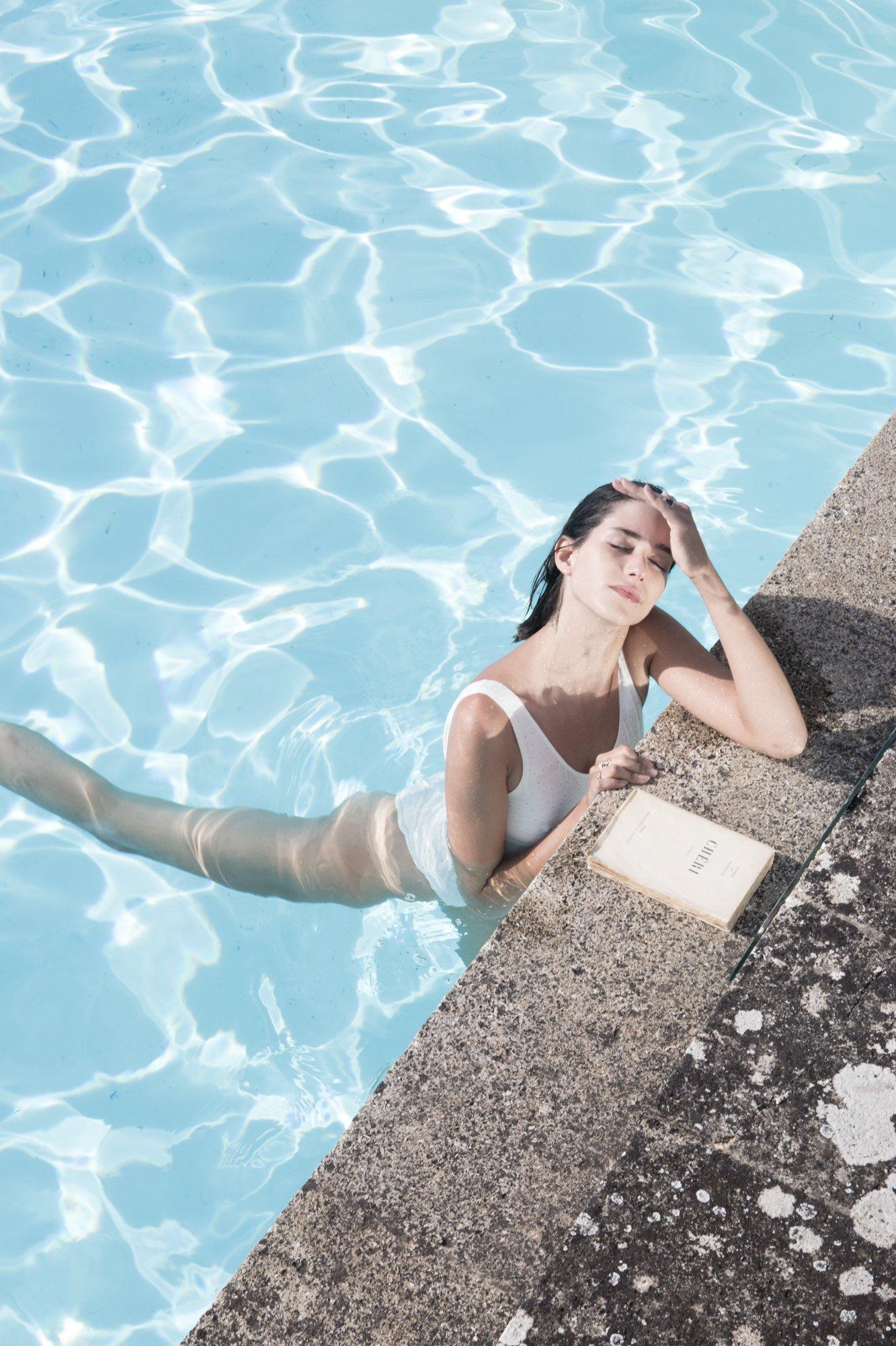 Image of Maillot de bain brodé LILA