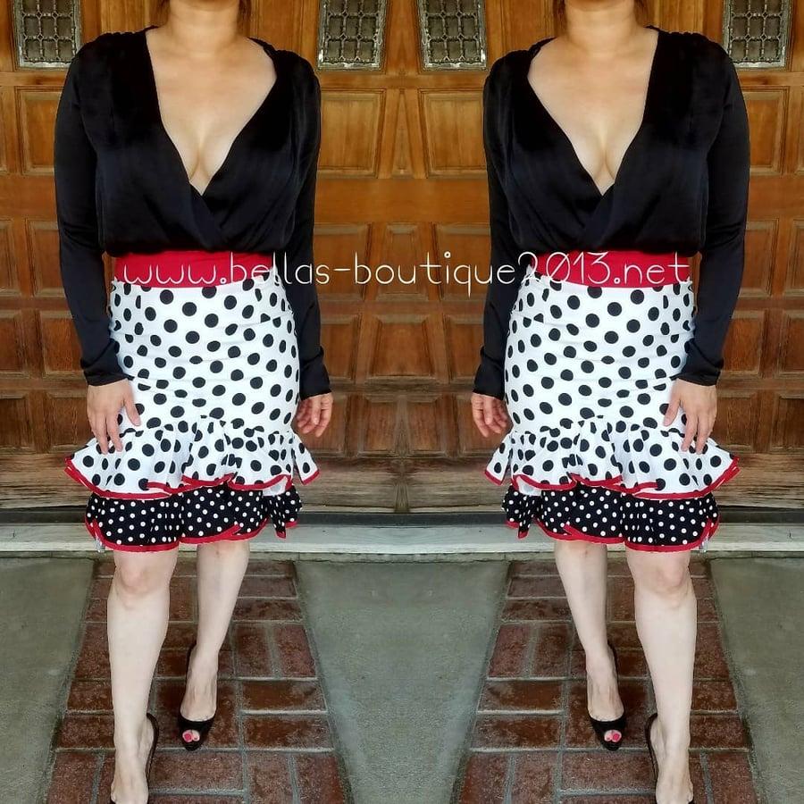 Image of Polka Dot Skirt