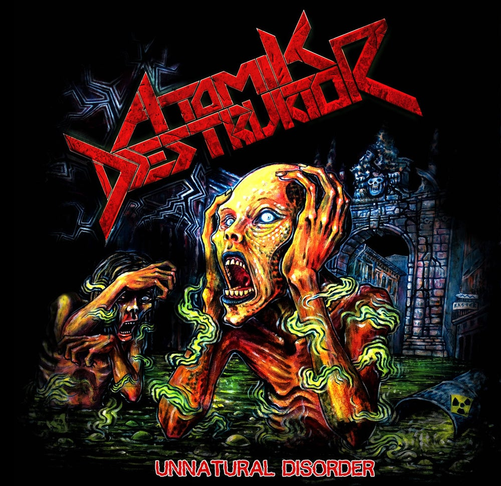 Image of Atomik Destruktor - Unnatural Disorder CD