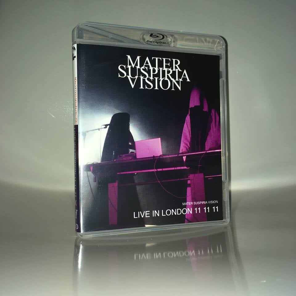 Image of LIMITED 50 MATER SUSPIRIA VISION - LIVE IN LONDON 11 11 11 BLU-RAY-R + BONUS BURIAL HEX EXCERPT