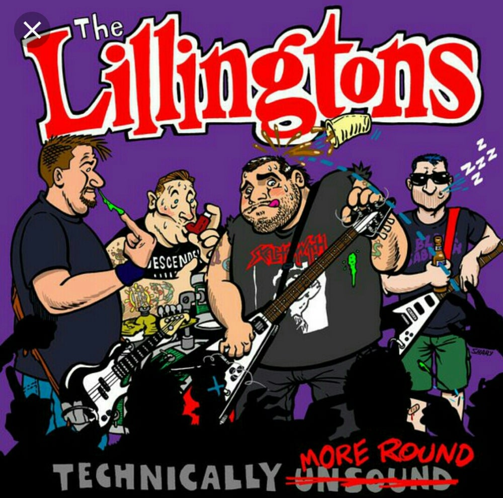 Image of Lillingtons Technically More Round 2XLP