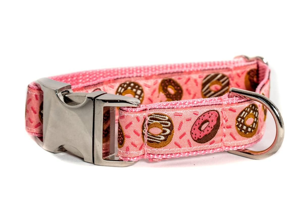 Donut pink Dog Collar