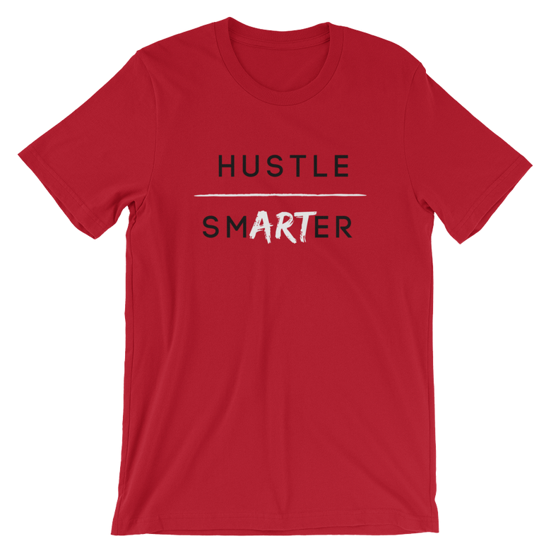 Image of Creative Hustle - Red, Black & White