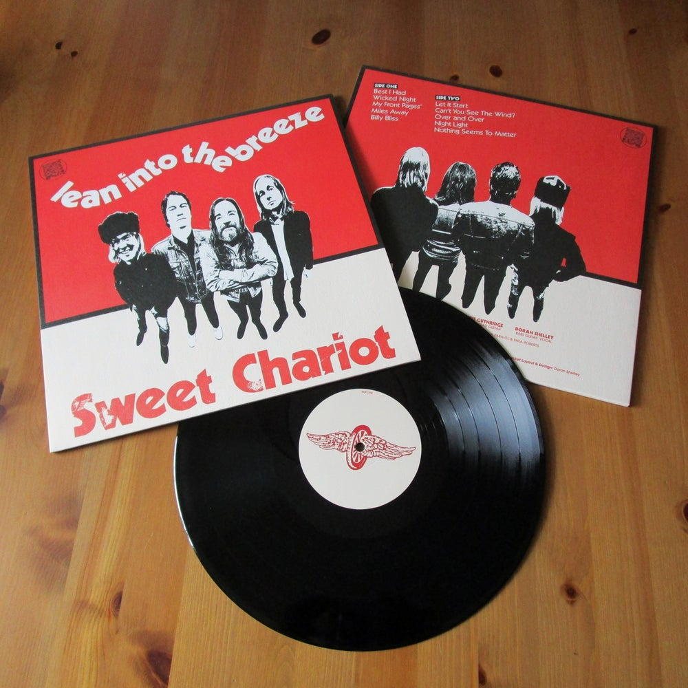 Image of SWEET CHARIOT - 'Lean Into The Breeze' LP
