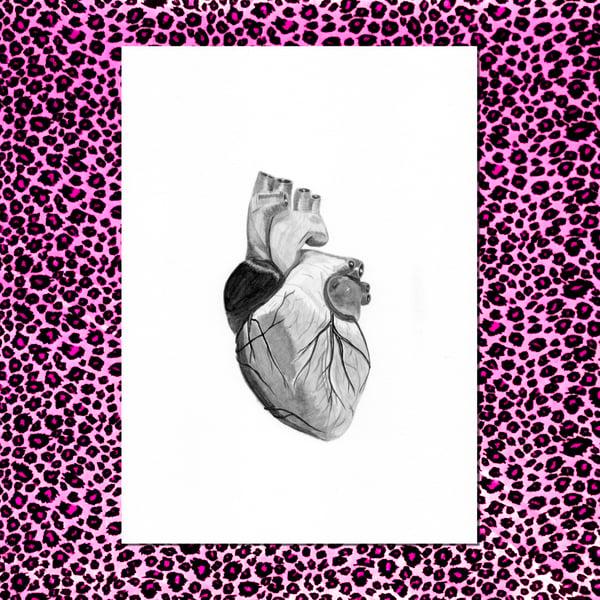"""Image of Ilustración """"Corazón Negro"""""""