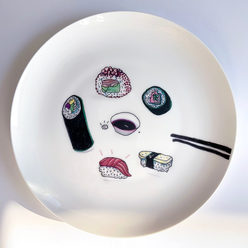 Image of Sushi Plate