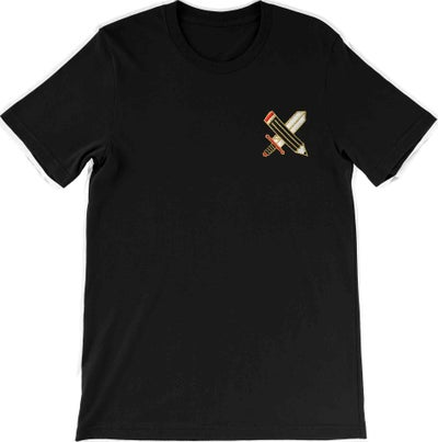 Image of Excalibur - Embroidered T-shirt