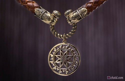 Image of MAGIC ALATYR : SLAVIC PROTECTION AMULET